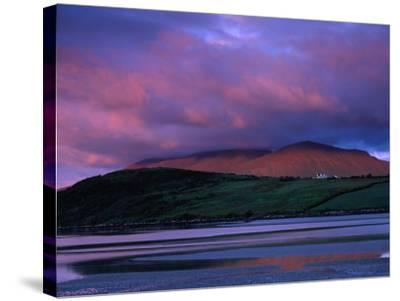 Stadbally and Bernoskee Mountains Seen from Clogbane, Dingle, Ireland-Gareth McCormack-Stretched Canvas Print