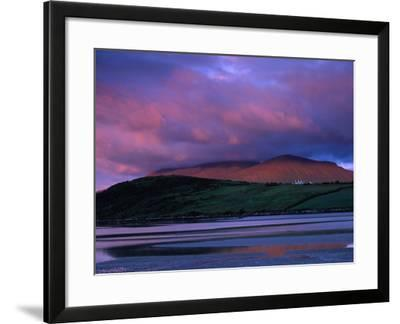 Stadbally and Bernoskee Mountains Seen from Clogbane, Dingle, Ireland-Gareth McCormack-Framed Photographic Print