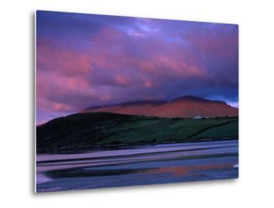 Stadbally and Bernoskee Mountains Seen from Clogbane, Dingle, Ireland-Gareth McCormack-Metal Print