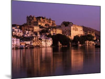 City Palace at Sunset, Udaipur, India-Dan Gair-Mounted Photographic Print