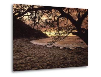 Secret Beach, Puerta Vallarta, Mexico-Walter Bibikow-Metal Print