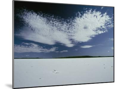 High Clouds Form Above the Dry Salt Lake-Jason Edwards-Mounted Photographic Print