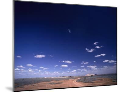 A Brilliant Sky and Clouds over the Flat Landscape-Jason Edwards-Mounted Photographic Print
