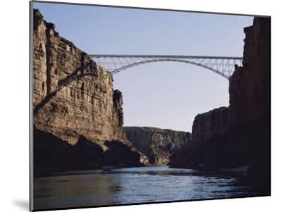View of Navajo Bridge-W^ E^ Garrett-Mounted Photographic Print