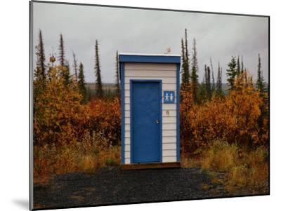 Outhouse in the Bush-Raymond Gehman-Mounted Photographic Print