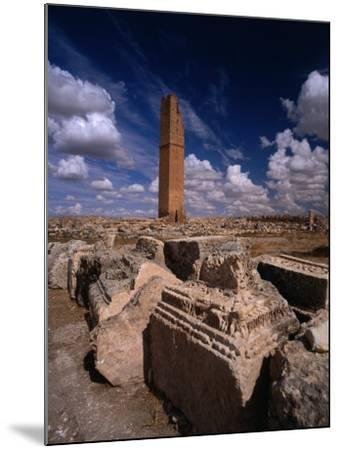 Ancient Ruins, Harran, Turkey-Izzet Keribar-Mounted Photographic Print