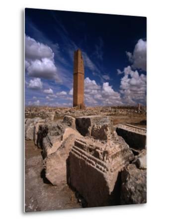 Ancient Ruins, Harran, Turkey-Izzet Keribar-Metal Print
