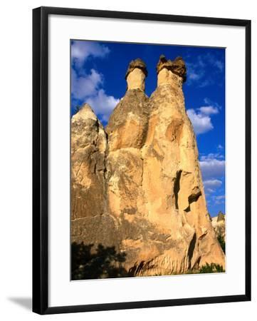 "Pasabagi ""Fairy Chimneys"" Mountains, Cappadocia, Turkey-Wayne Walton-Framed Photographic Print"