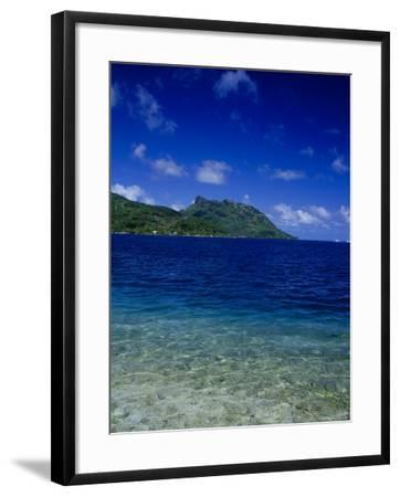 Green and Blue Waters, Verdant Hills-Barry Winiker-Framed Photographic Print