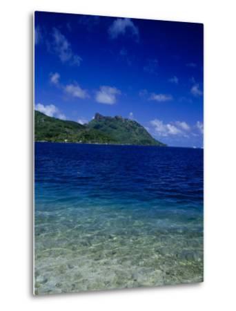 Green and Blue Waters, Verdant Hills-Barry Winiker-Metal Print