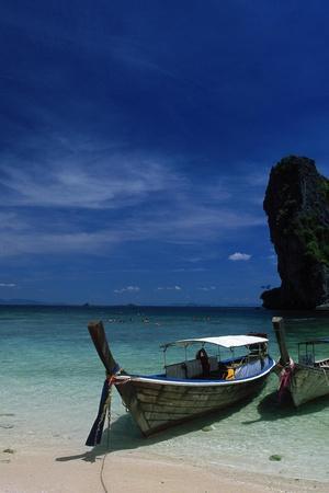 Poda Island, Andaman Sea, Phuket-Angelo Cavalli-Stretched Canvas Print
