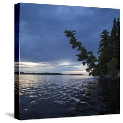 Lake of the Woods, Ontario, Canada-Keith Levit-Stretched Canvas Print
