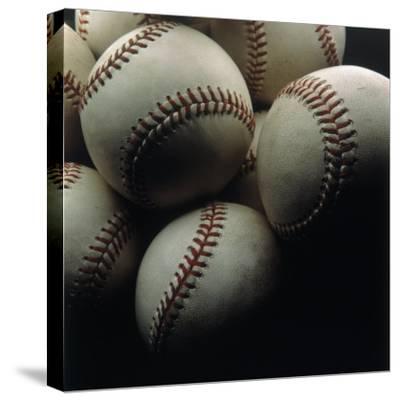 Still Life of Baseballs-Howard Sokol-Stretched Canvas Print