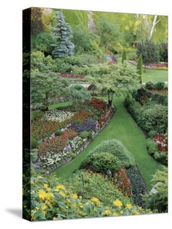 Butchart Gardens, Victoria, Canada--Stretched Canvas Print