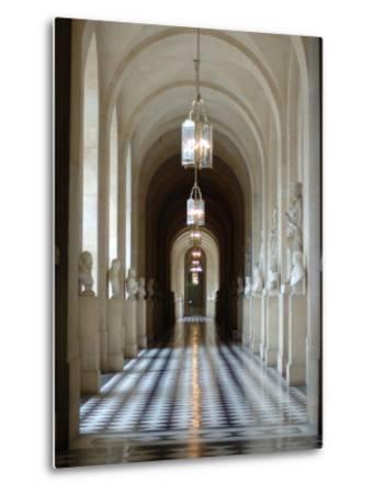 Hallway, Versailles, France-Lisa S^ Engelbrecht-Metal Print