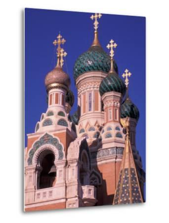 Russian Orthodox Cathedral in Nice, Cote D'Azur, France-Nik Wheeler-Metal Print