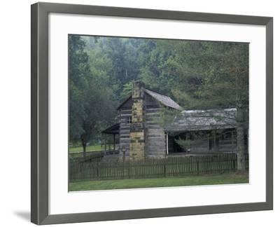 Dillion Ahser Cabin, Red Bird, Kentucky, USA-Adam Jones-Framed Photographic Print