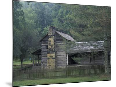 Dillion Ahser Cabin, Red Bird, Kentucky, USA-Adam Jones-Mounted Photographic Print