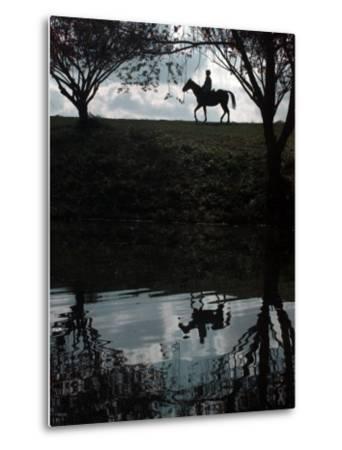 Horse Ride--Metal Print