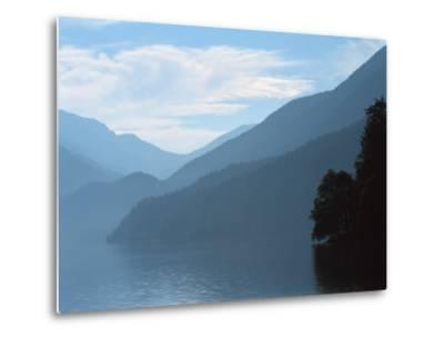 Lake Crescent in the Olympic Mountains, Washington, USA-Jerry Ginsberg-Metal Print