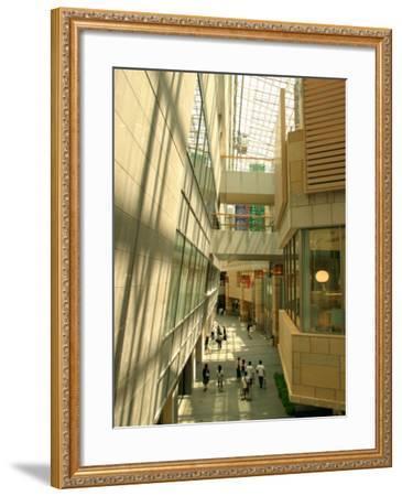 Shopping Centre in Roppongi Hills, Tokyo, Japan-Greg Elms-Framed Photographic Print