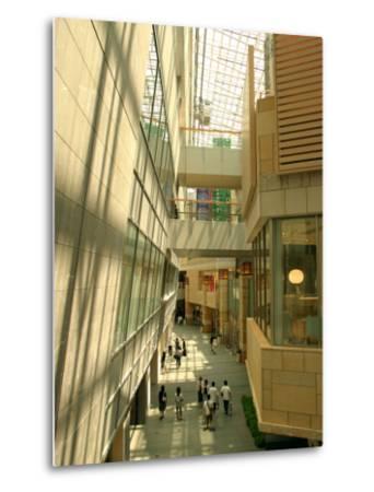 Shopping Centre in Roppongi Hills, Tokyo, Japan-Greg Elms-Metal Print
