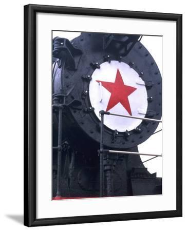 CY116 Retired Train, Trans Siberian Railroad Museum, Ulan Batar, Mongolia-Bill Bachmann-Framed Photographic Print