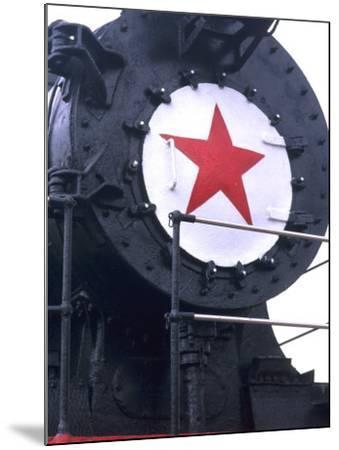 CY116 Retired Train, Trans Siberian Railroad Museum, Ulan Batar, Mongolia-Bill Bachmann-Mounted Photographic Print