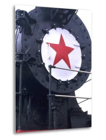CY116 Retired Train, Trans Siberian Railroad Museum, Ulan Batar, Mongolia-Bill Bachmann-Metal Print