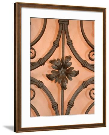 Wrought-Iron Gate Detail, Lake Orta, Orta, Italy-Lisa S^ Engelbrecht-Framed Photographic Print