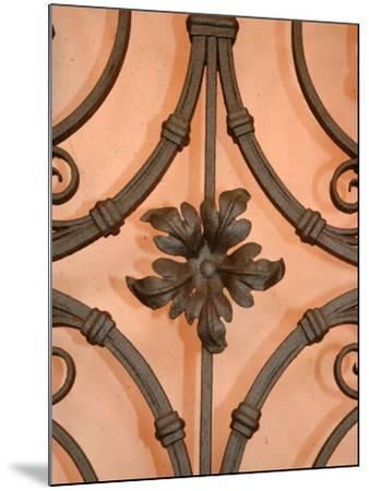 Wrought-Iron Gate Detail, Lake Orta, Orta, Italy-Lisa S^ Engelbrecht-Mounted Photographic Print