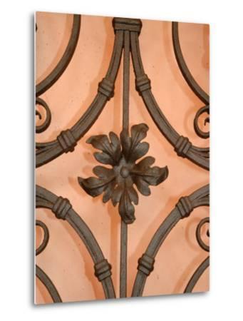 Wrought-Iron Gate Detail, Lake Orta, Orta, Italy-Lisa S^ Engelbrecht-Metal Print