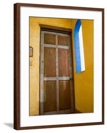 Hotel El Meson De Los Poetas, Guanajuato, Mexico-Julie Eggers-Framed Photographic Print
