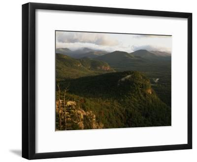 Cathedral Ledge and the White Mountains, New Hampshire-Phil Schermeister-Framed Photographic Print