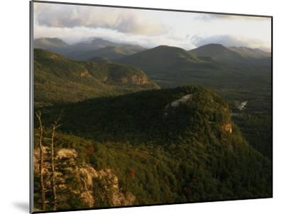 Cathedral Ledge and the White Mountains, New Hampshire-Phil Schermeister-Mounted Photographic Print