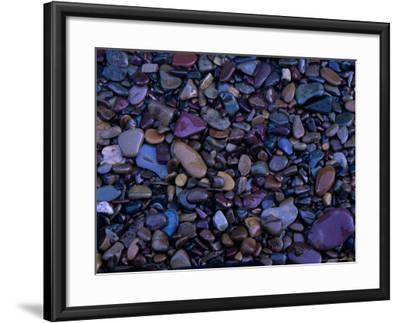 Gravel in Mountain Creek, Montana, USA-Jerry Ginsberg-Framed Photographic Print