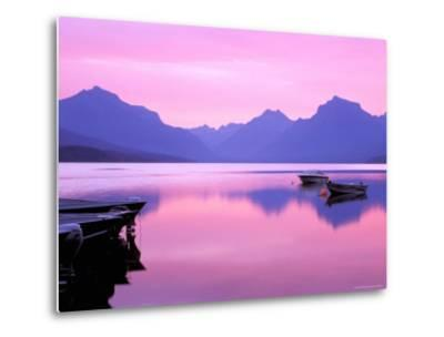 Lake McDonald at Dawn, Glacier National Park, Montana, USA--Metal Print