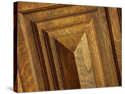 Close-up of Wood Texture--Stretched Canvas Print