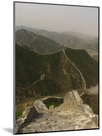 The Great Wall of China at the Juyongguan Pass-Richard Nowitz-Mounted Photographic Print