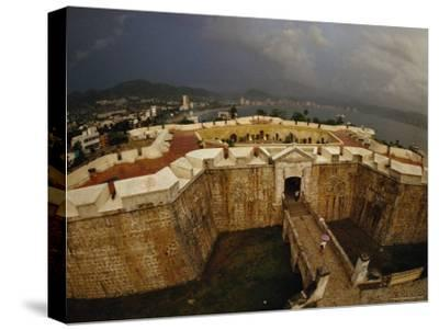 Built as Five-Pointed Star of Defense for Acapulcos Inner Harbor, Fort San Diego Warded off Pirates-Sisse Brimberg-Stretched Canvas Print