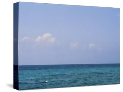 A View of the Ocean on a Sunny Summer Day at the Beach-Taylor S^ Kennedy-Stretched Canvas Print