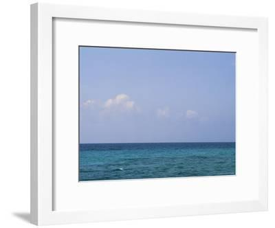 A View of the Ocean on a Sunny Summer Day at the Beach-Taylor S^ Kennedy-Framed Photographic Print