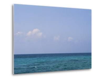 A View of the Ocean on a Sunny Summer Day at the Beach-Taylor S^ Kennedy-Metal Print