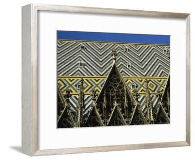The Roof of St Stephen's Cathedral in Vienna, Austria-Taylor S^ Kennedy-Framed Photographic Print