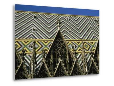 The Roof of St Stephen's Cathedral in Vienna, Austria-Taylor S^ Kennedy-Metal Print