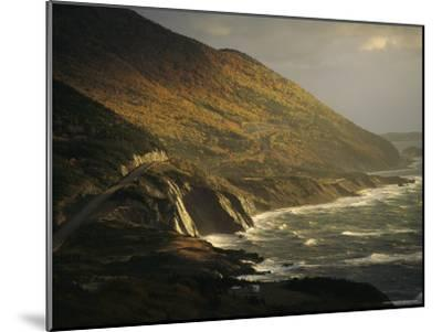 The Cabot Trail Winds its Way Along the Gulf of St. Lawrence-Raymond Gehman-Mounted Photographic Print
