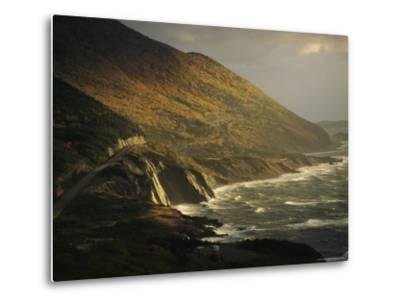 The Cabot Trail Winds its Way Along the Gulf of St. Lawrence-Raymond Gehman-Metal Print