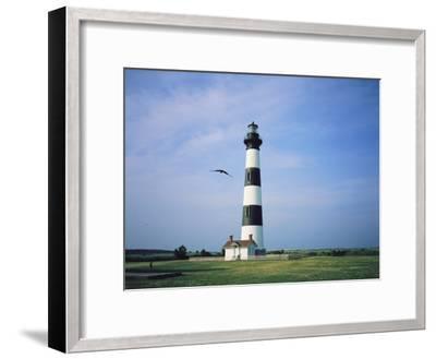 Bodie Island Lighthouse, Part of the Cape Hatteras National Seashore-Vlad Kharitonov-Framed Photographic Print