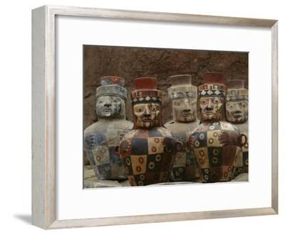View of Wari Pottery-Kenneth Garrett-Framed Photographic Print
