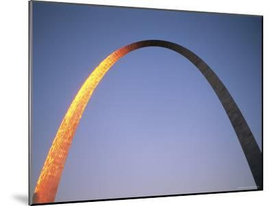 Sunlight Beams on the Gateway Arch in Saint Louis-Joel Sartore-Mounted Photographic Print
